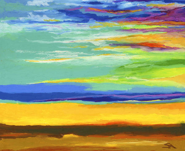 Wall Art - Painting - Big Sky by Stephen Anderson