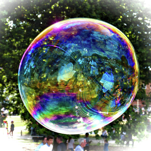 Photograph - Big Soap Bubble by Jeremy Hayden