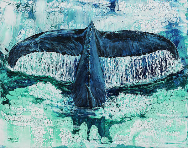 Painting - Big Splash On Maui by Darice Machel McGuire