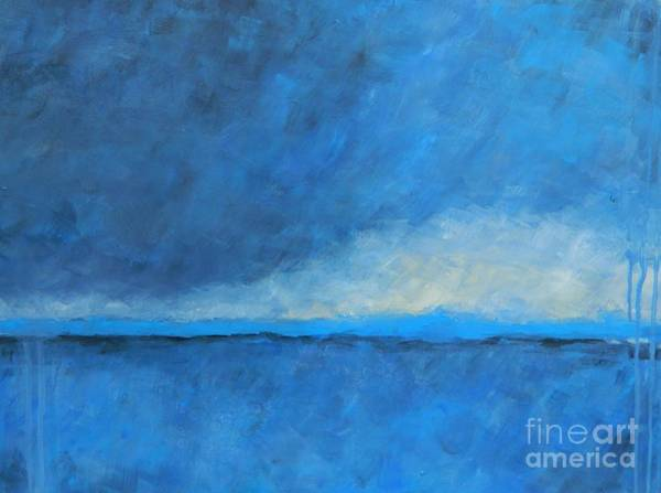 Wall Art - Painting - Big Stormy by Kate Marion Lapierre
