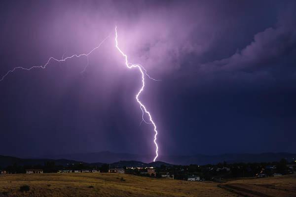 Monsoon Photograph - Big Strike by Medicine Tree Studios