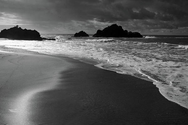 Photograph - Big Sur Black And White by Pierre Leclerc Photography