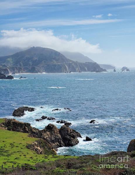 Photograph - Big Sur Coastline, California  #30325 by John Bald