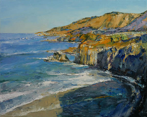 Wall Art - Painting - Big Sur by Michael Creese