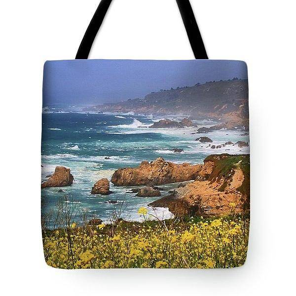 Wall Art - Photograph - Big Sur Spring Beauty - Tote by Donna Kennedy