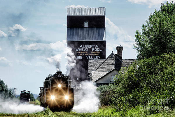 Photograph - Big Valley Steam by Brad Allen Fine Art