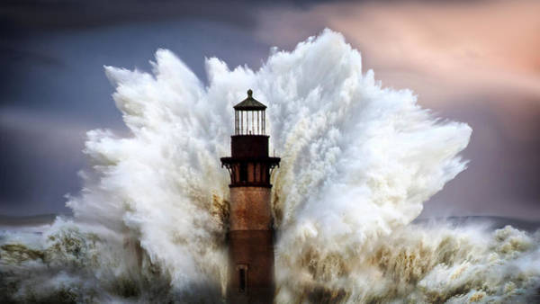 Wall Art - Photograph - Big Wave by Greg Waters
