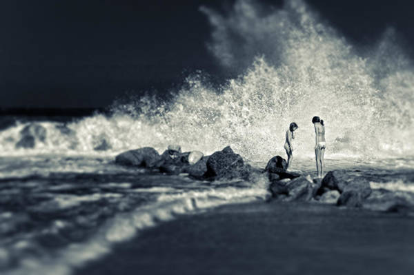 Photograph - Big Wave by Silvia Ganora