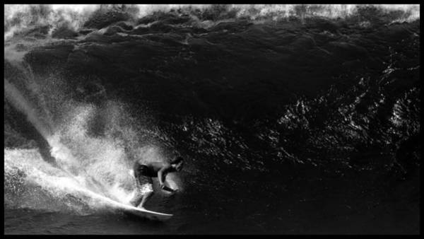 Photograph - Big Wave Surfing by Brad Scott