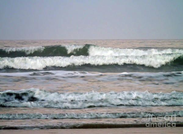 Photograph - Big Waves At New Smyrna by D Hackett