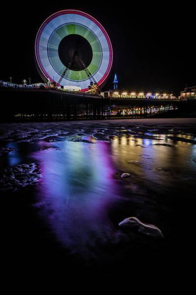 Wheel Wall Art - Photograph - Big Wheel Colour  by Mark Mc neill