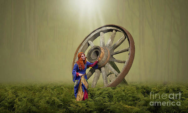 Photograph - Big Wheel by Sajid Ch