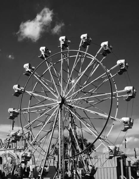 Indio Photograph - Big Wheel Palm Springs by William Dey