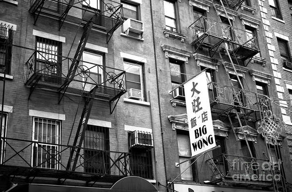 Photograph - Big Wong In Chinatown by John Rizzuto