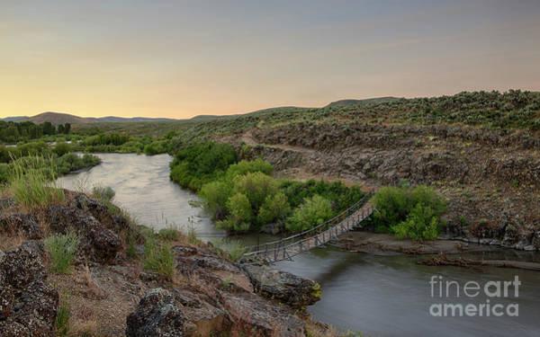 Wall Art - Photograph - Big Wood River Sheep Bridge by Idaho Scenic Images Linda Lantzy