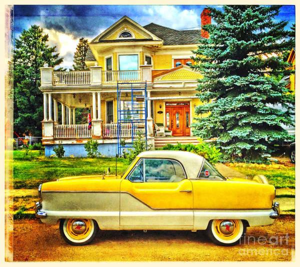 Photograph - Big Yellow Metropolis by Craig J Satterlee