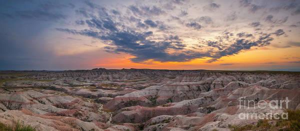 Wall Art - Photograph - Bigfoot Overlook Sunset Panorama by Michael Ver Sprill
