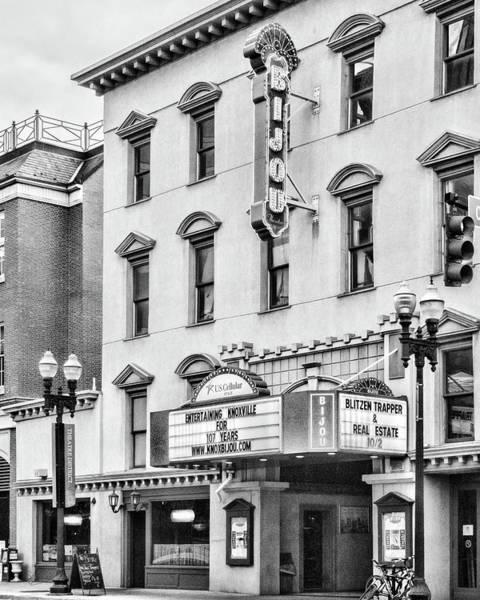 Photograph - Bijou Theatre Crop by Sharon Popek