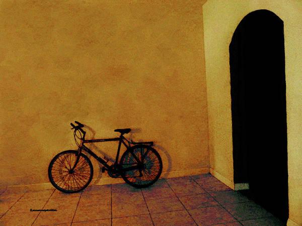 Digital Art - Bike Art by Miss Pet Sitter