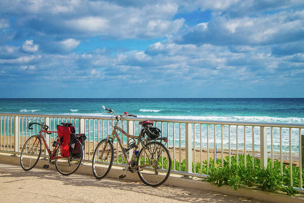 Photograph - Bike Break At The Beach by Lynn Bauer