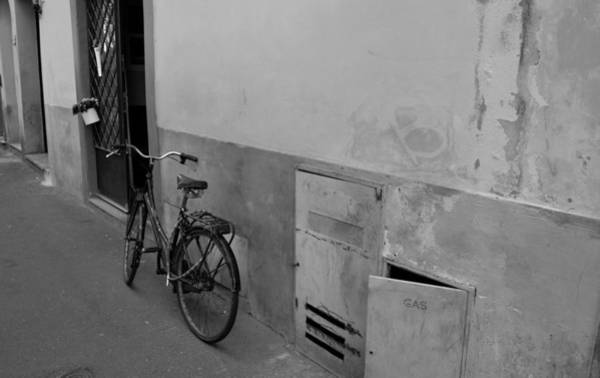 Photograph - Bike In Alley by Chris Alberding
