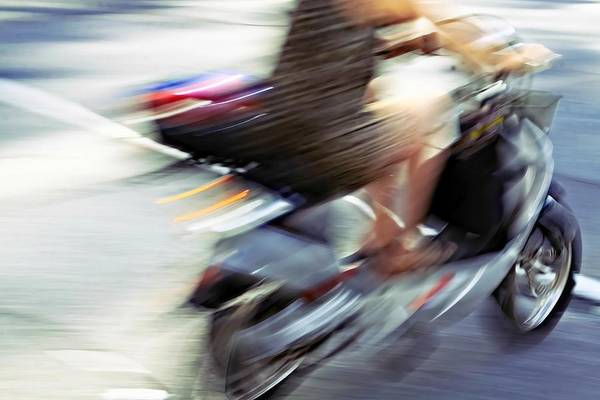 Photograph - Bike In Motion by Tatiana Travelways