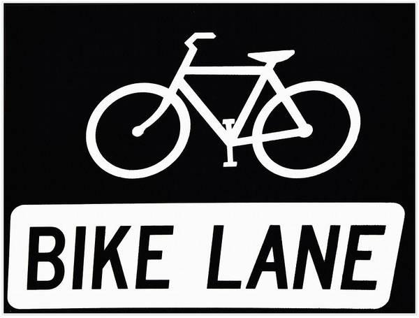Photograph - Bike Lane by Bill Cannon