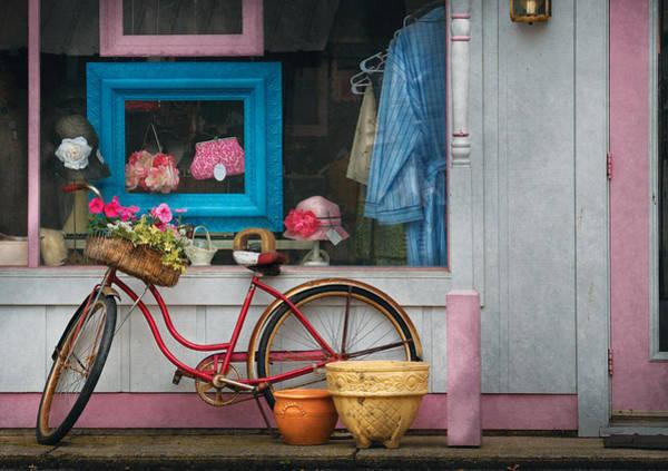 Photograph - Bike - Lulu's Bike by Mike Savad