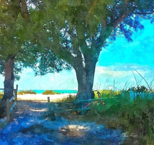Photograph - Bike To The Beach by Susan Molnar