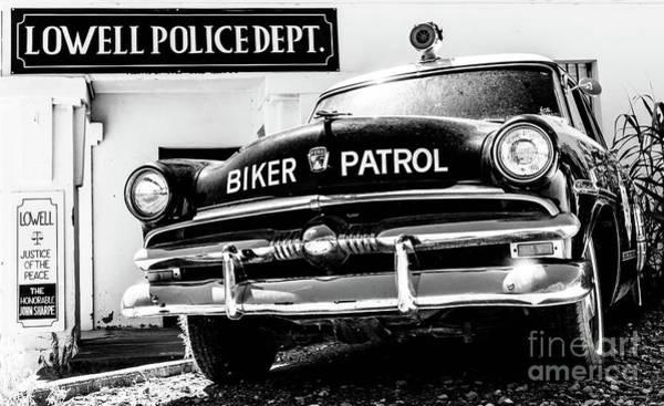 Biker Patrol Art Print