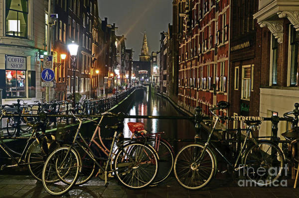 Photograph - Amsterdam Bikes And Kolkswaterkering - Amsterdam by Carlos Alkmin