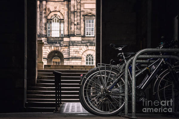 Wall Art - Photograph - Bikes And University by Jane Rix