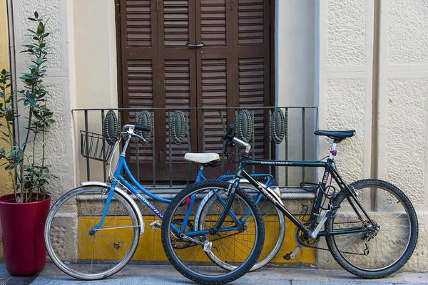 Photograph - Bikes by Gary Lengyel