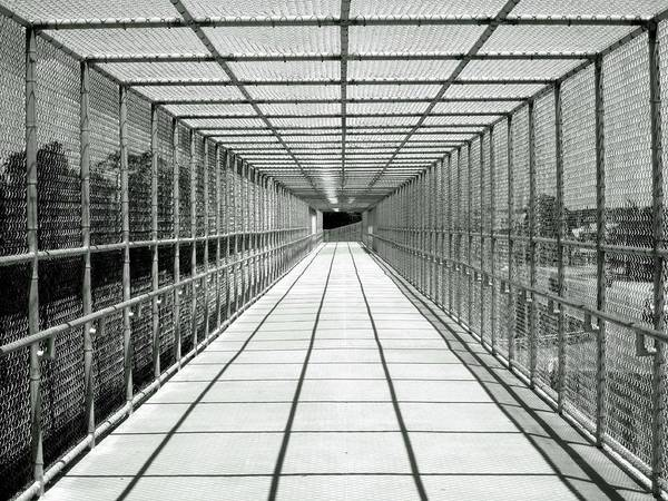 Photograph - Biking Bridge by Pat Moore