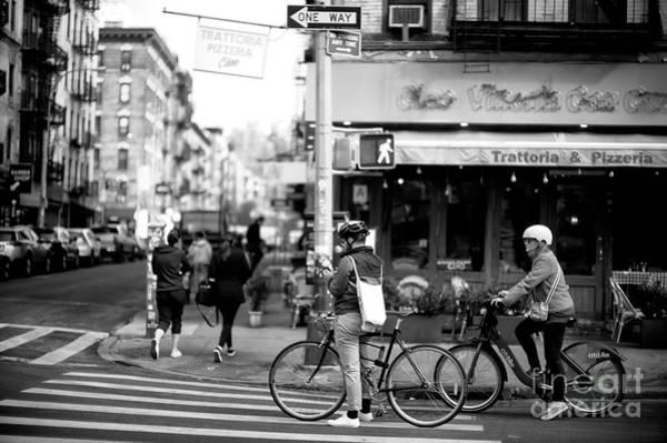 Photograph - Biking In Little Italy by John Rizzuto