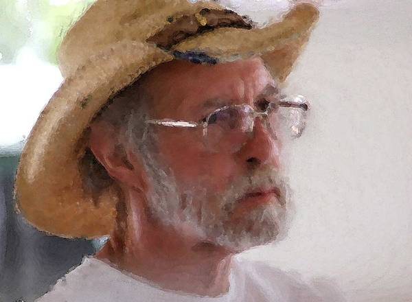 Painting - Bill Harrison by Michael Thomas