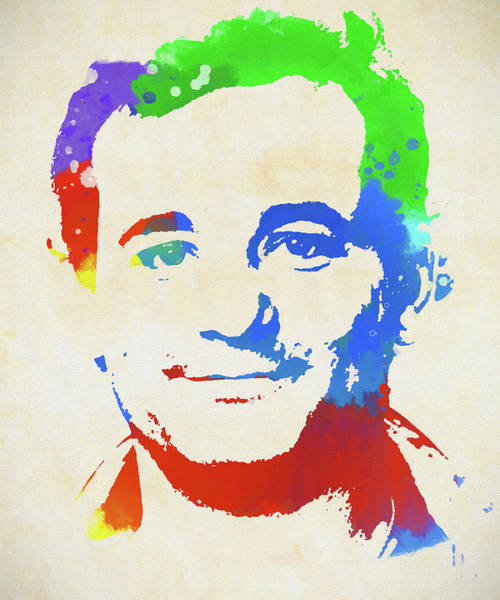 Groundhog Painting - Bill Murray  by Dan Sproul