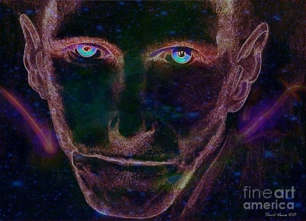 Digital Art - Bill Oberst Jr, The Icon Of Horror Films by David Neace