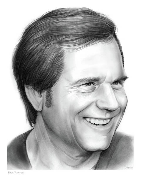 Wall Art - Drawing - Bill Paxton by Greg Joens