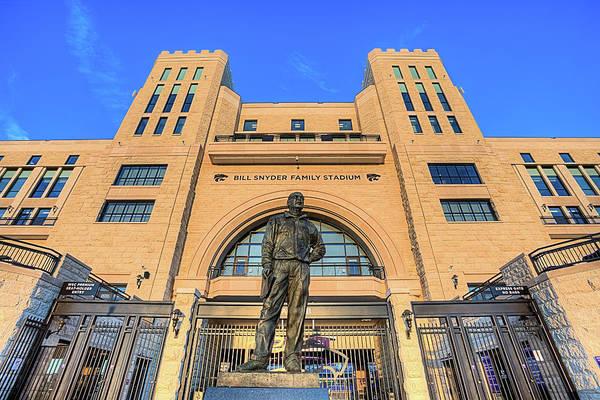 Kansas State University Photograph - Bill Snyder Family Stadium  by JC Findley