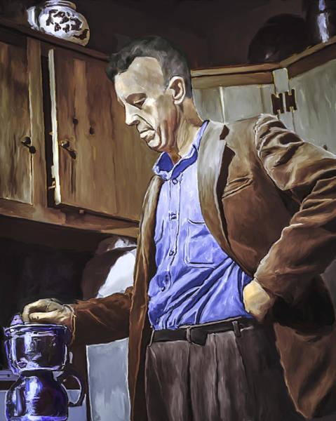 Painting - Bill Wilson by Rick Mosher