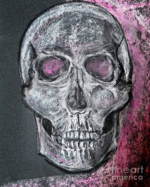 Pastel - Billie's Skull by Kim Nelson