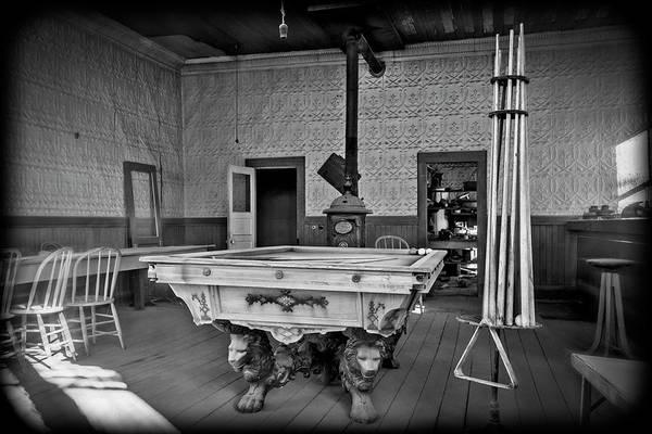 Wall Art - Photograph - Billiard Room by Kelley King