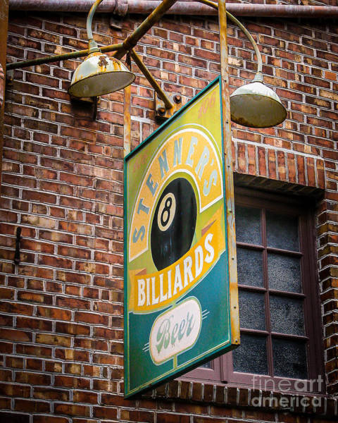 Wall Art - Photograph - Billiards by Perry Webster