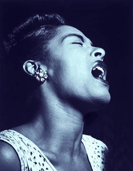 Digital Art - Billie Holiday Blues by Joy McKenzie