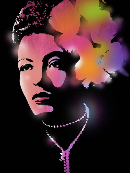 Wall Art - Painting - Billie Holiday by Paul Sachtleben