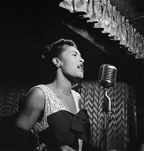 Billie Holiday William Gottlieb Photo New York City 1947 Art Print