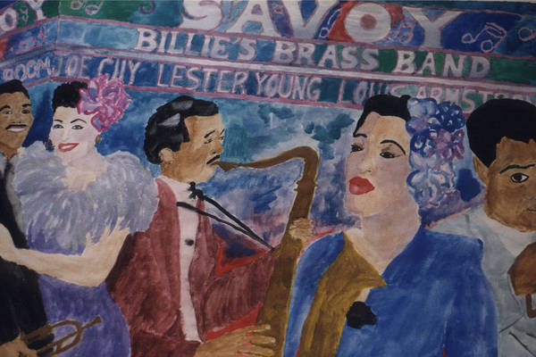 Painting - Billie's Brass Band by Rachel Natalie Rawlins