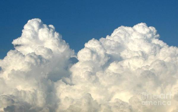 Photograph - Billowing Clouds 1 by Rose Santuci-Sofranko