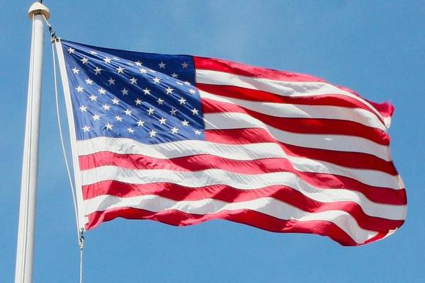 Photograph - Billowing Flag by Polly Castor